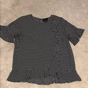 Cynthia Rowley Tops - Polka dot blouse